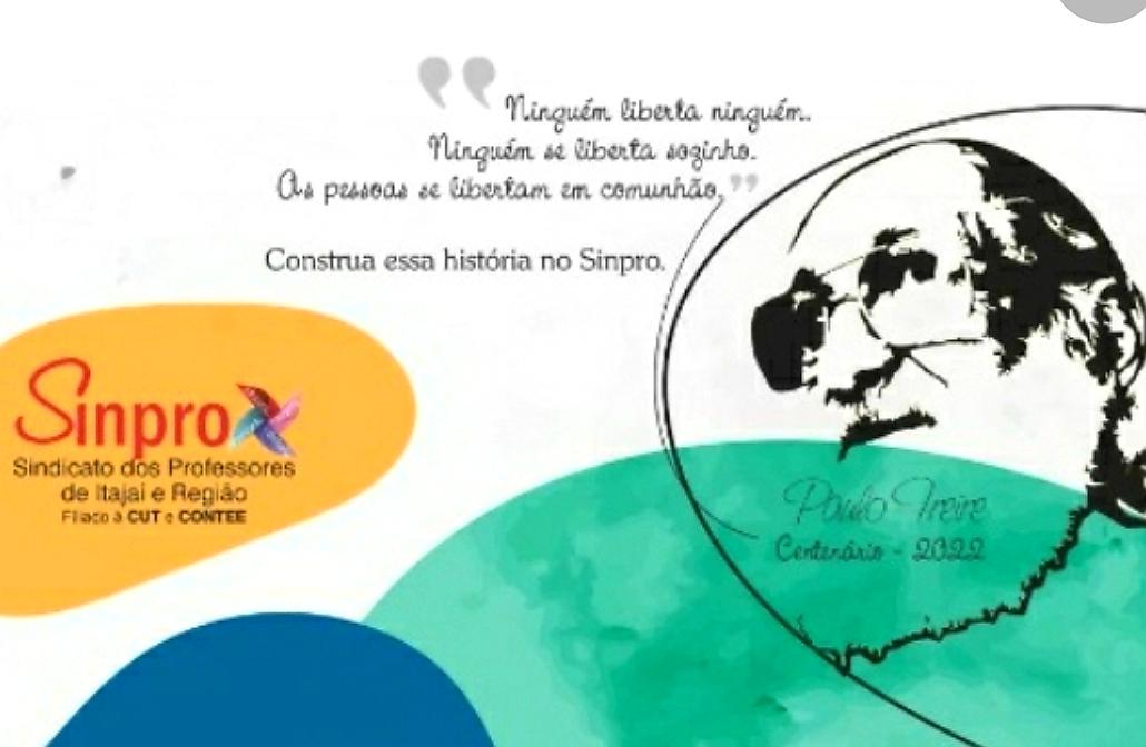 Centenário de Paulo Freire será comemorado em evento on-line